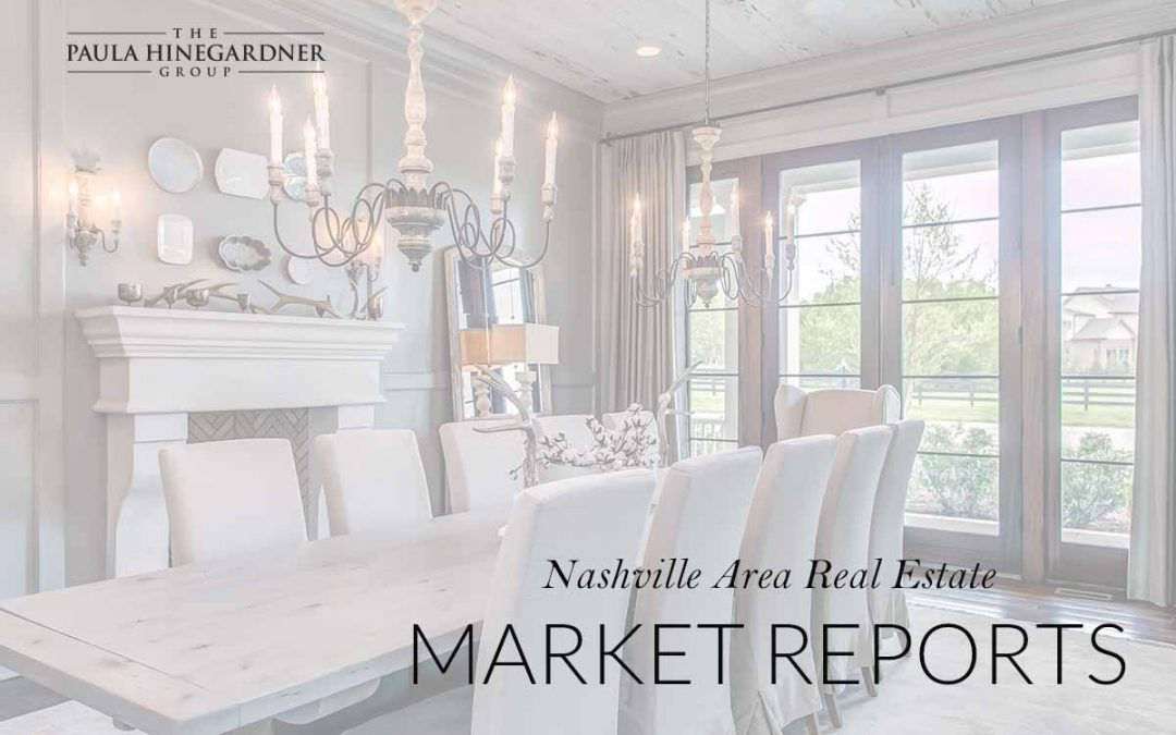 May 2018 Nashville Area Real Estate Market Report
