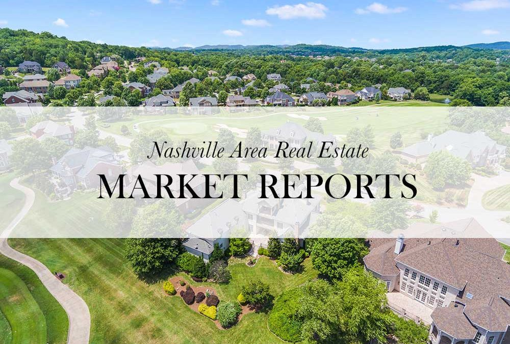 June 2018 Real Estate Market Reports for Greater Nashville Area