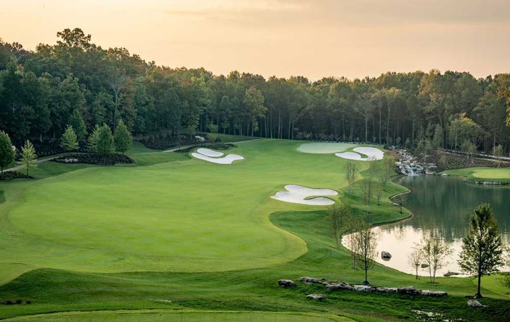 college grove tn golf course homes for sale